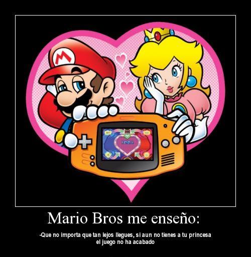 Mario y su Princesa