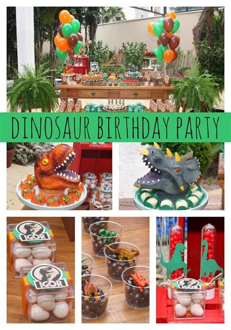 Jurassic Park Themed Party   Pretty My Party