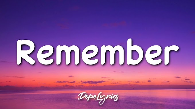 TVN - Remember (Lyrics) 🎵