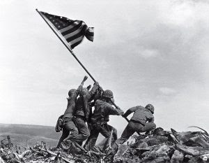 The photo that inspired a nation ... in spite of the facts.