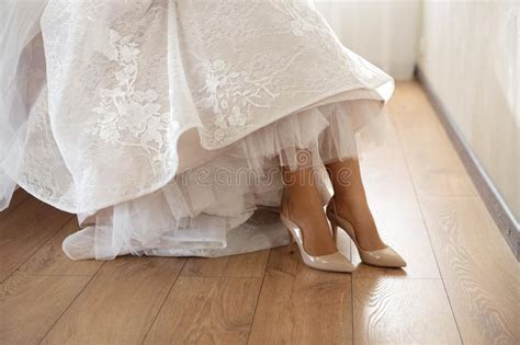 Woman feet and shoes stock photo. Image of isolated, lady