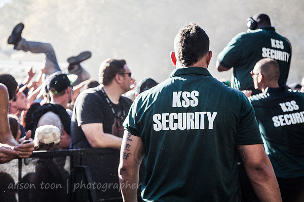 Security at Aftershock 2014