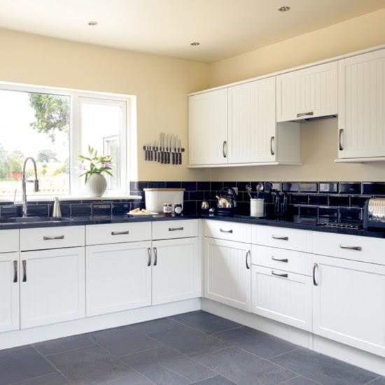 Black and white kitchen   Kitchen design   Decorating ideas