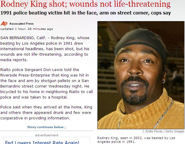 Rodney King was beated?