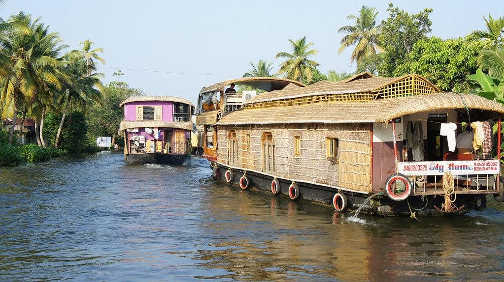 Alleppey Backwaters Kerala 2013