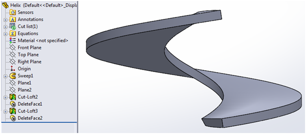 Cati Technotes Solidworks Lofted Bends For Complex Sheet