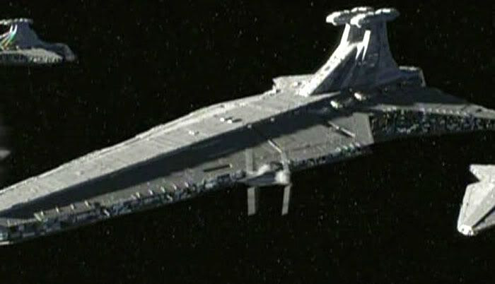 Precursors to the Star Destroyer.