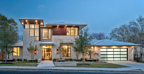 Rumah Mewah Minimalis Modern 2 Lantai Nuansa Pegunungan Rumahminimalis Com