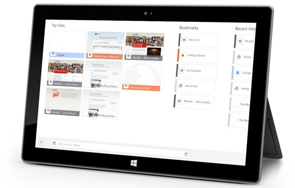 Firefox for Windows 8 enters Aurora channel with touch and gesture support