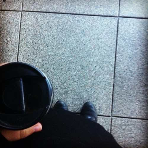 And again #coffee #mainz #fromwhereistand #train