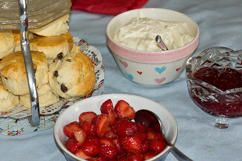 2012 Jubilee Cream Tea