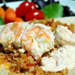 Seafood – Shrimp Burritos