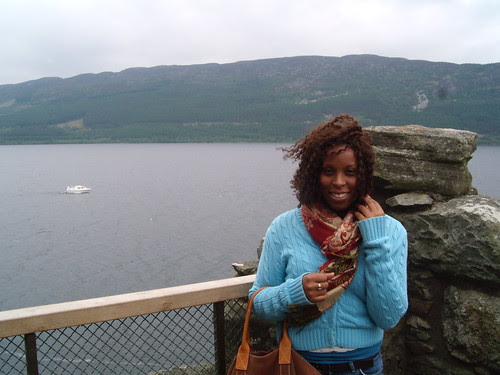 Alexandra Sutton in Scotland