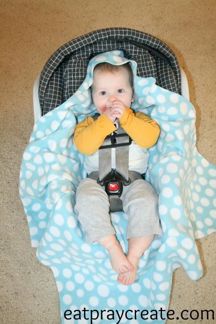 Car seat Swaddle Blanket