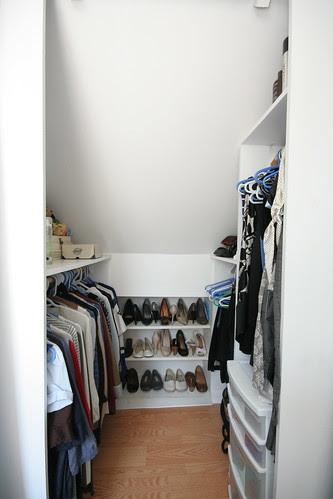 Master Closet - July 2011