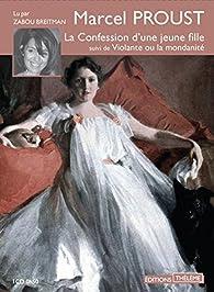La Confession d\'une jeune fille suivi de Violante ou la mondanité par Marcel Proust