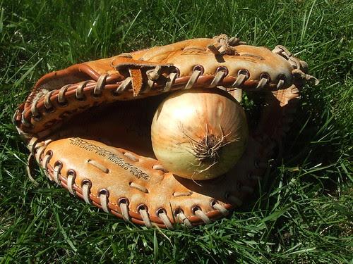 baseball and food