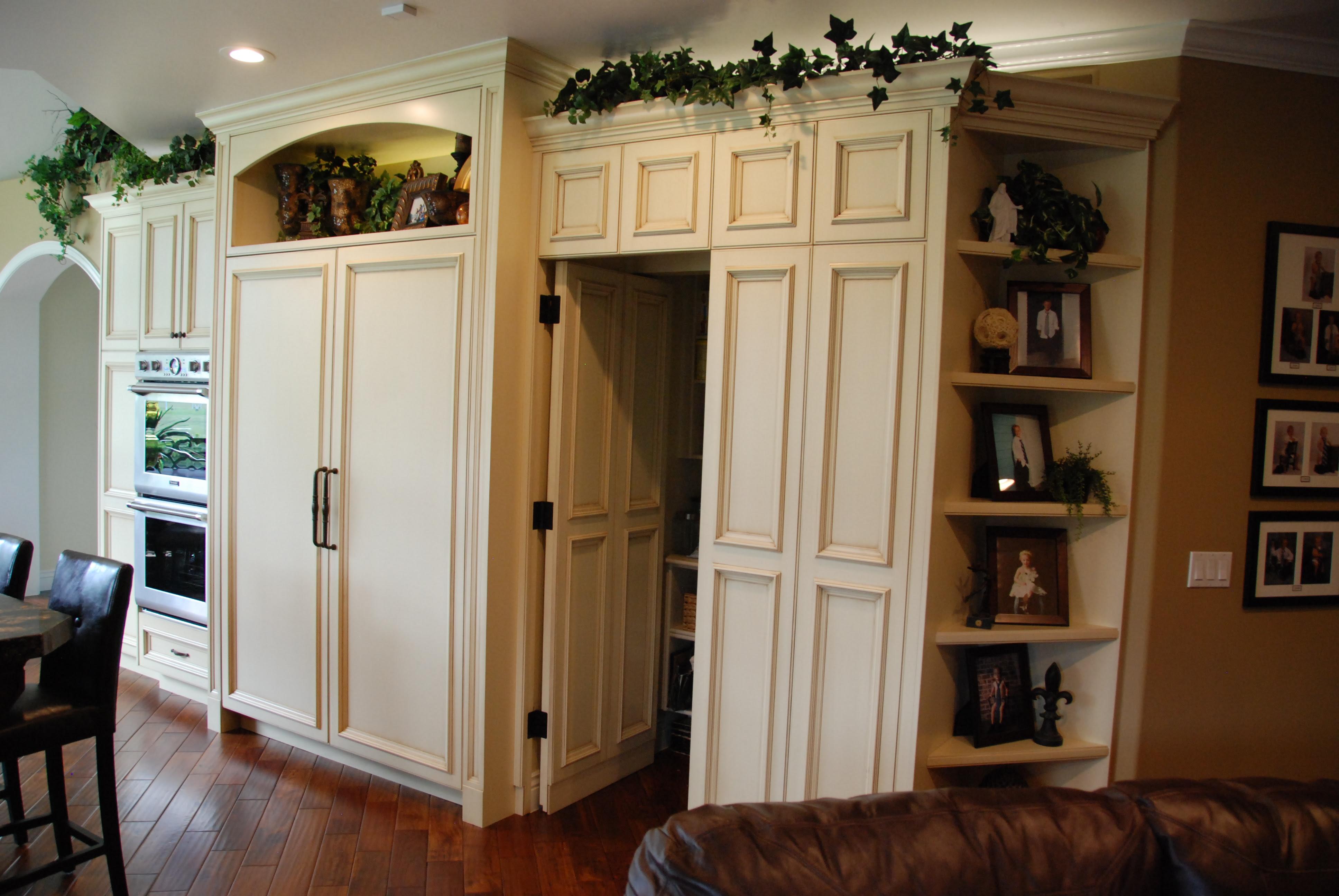 Kitchen Storage Cabinets with Doors