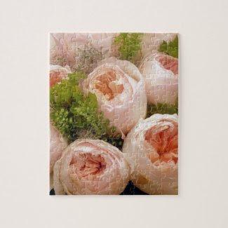 Precious Pink Roses Puzzles