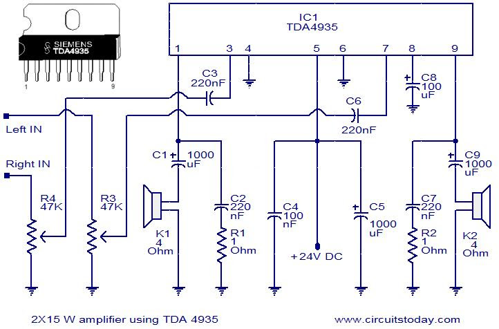 Circuit Diagram Of Audio Amplifier Of 12v Pdf - Circuit
