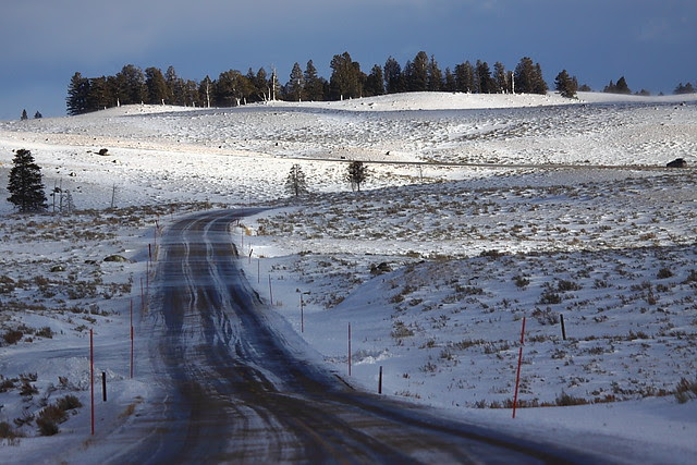 IMG_3128 Winter Road Condition, Yellowstone National Park