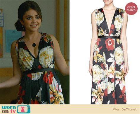 WornOnTV: Haley?s black floral maxi dress at the wedding