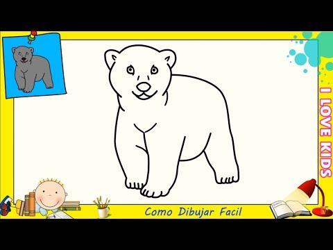 Dibujos De Osos Faciles Paso A Paso Para Niños Como