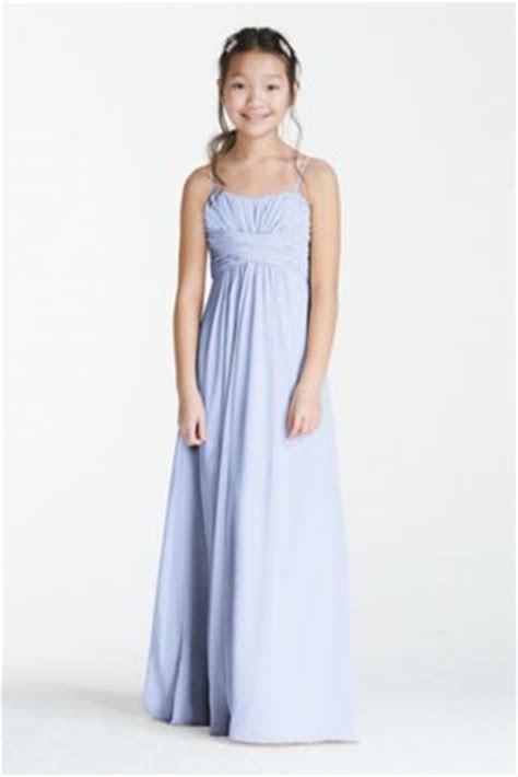 Long Chiffon Sweetheart Gown   Davids Bridal