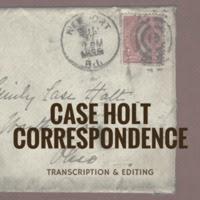 Case Holt Correspondence