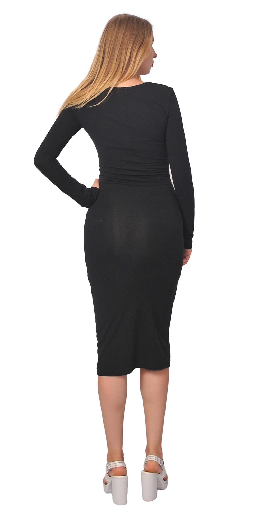 Womens bodycon midi dresses