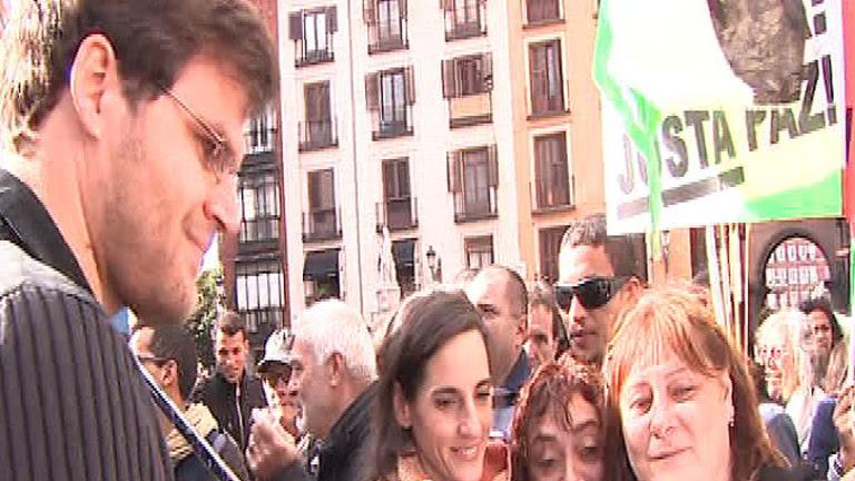 Los cooperantes Gonyalons y Fernández, protagonistas en la marcha por el Sáhara