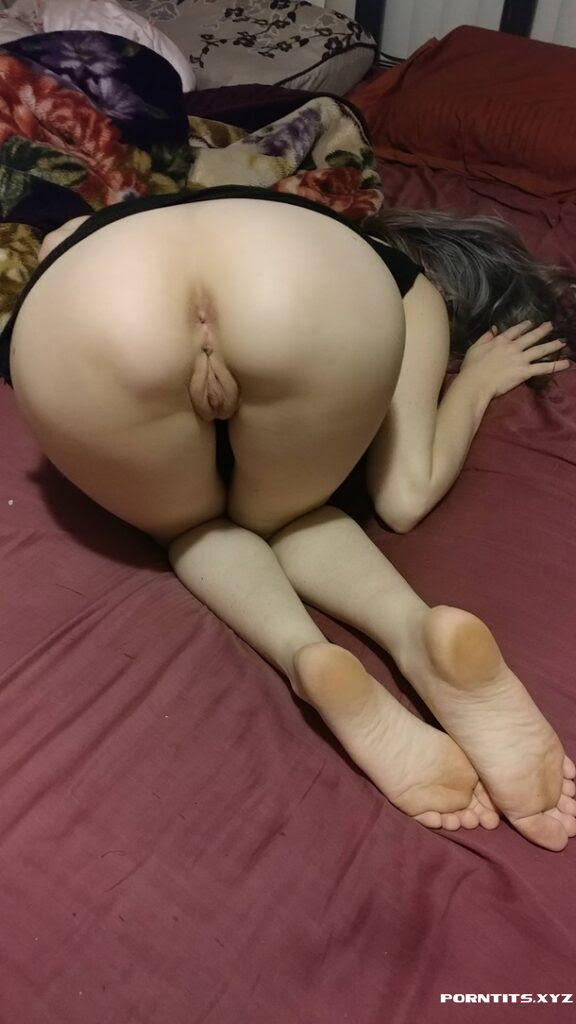 Thrown on the bed and ready to be ravaged