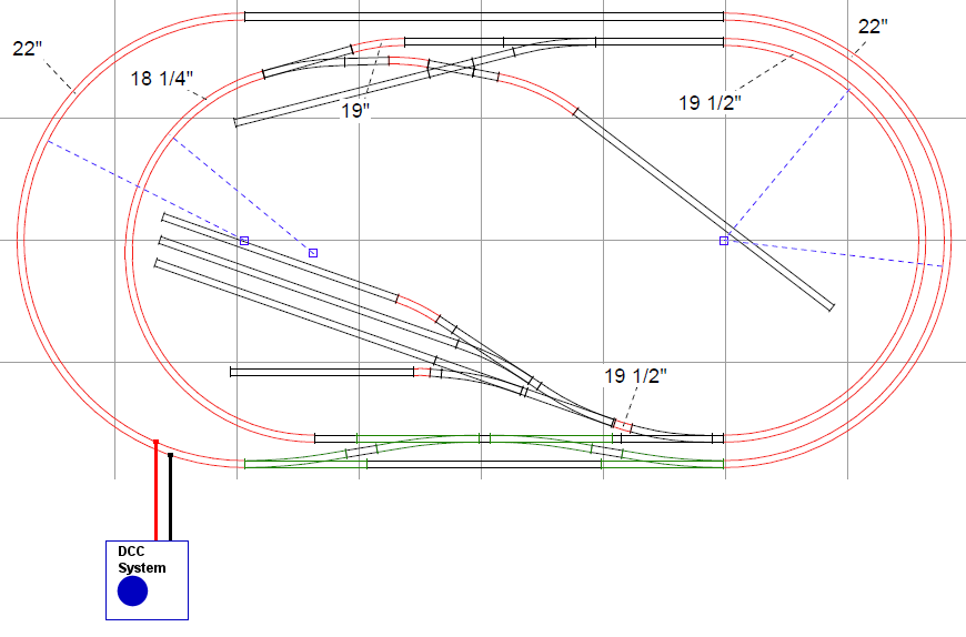 Model Train Wiring Diagrams Together With Dcc Layout Wiring Diagrams