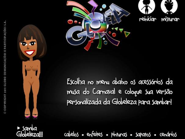 Aplicativo Globeleza (Foto: Tv Globo/ Divulgação)