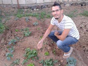 Carlos' first crop