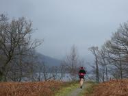 West Highland Way north of Rowardennan