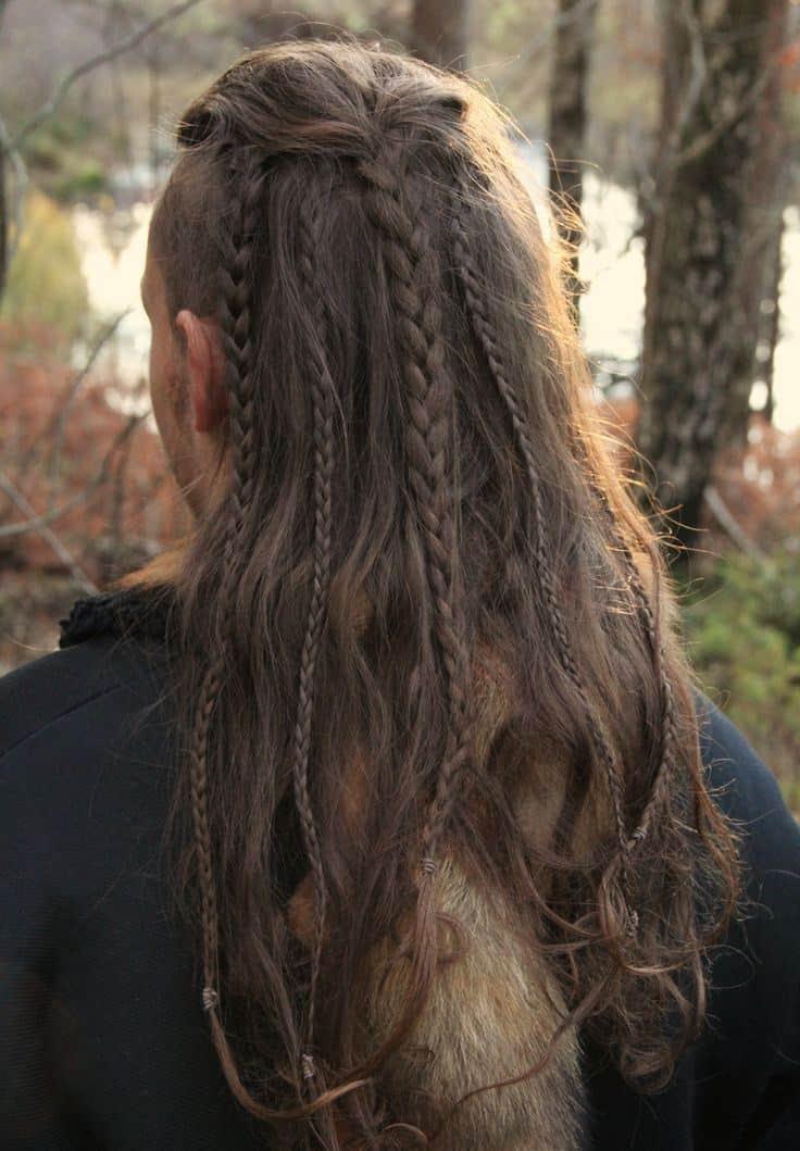 50 Masculine Braids For Long Hair - Unique & Stylish (2018)