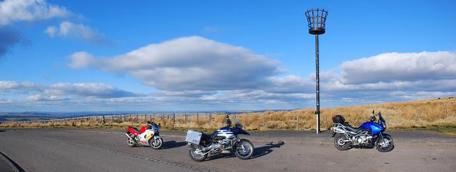 Bikes at the border.