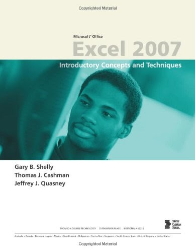 [PDF] Microsoft Office Excel 2007: Introductory Concepts and Techniques Free Download