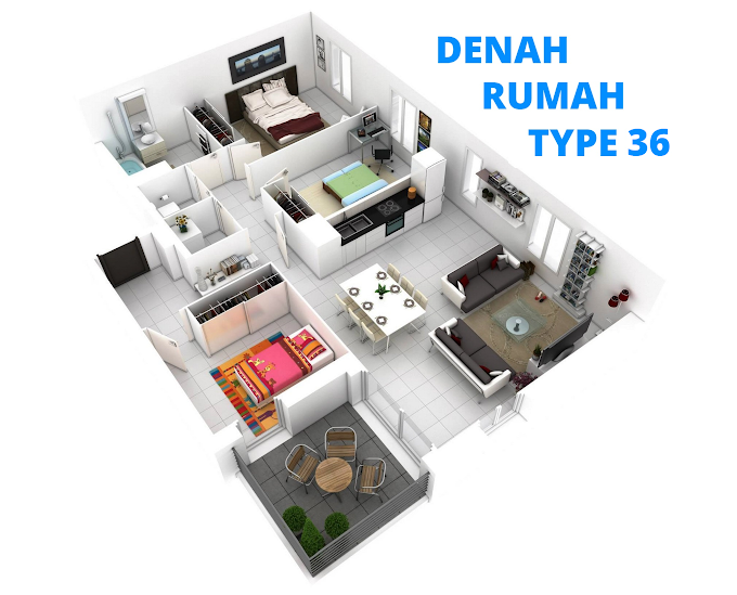 Kumpulan Denah Rumah Minimalis   Ide Rumah Minimalis