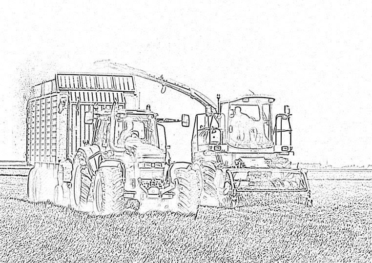 20 ausmalbilder traktor mit frontlader