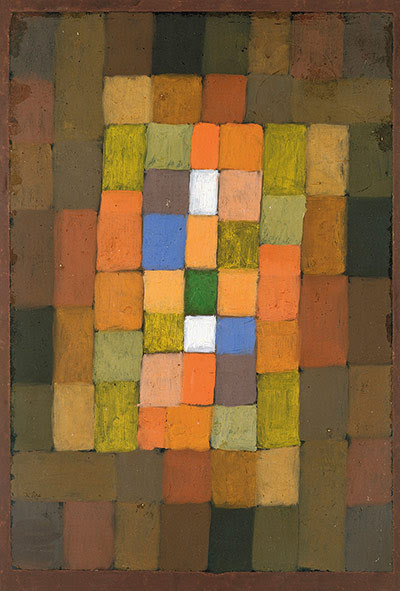 Paul Klee: Static-Dynamic Intensification, 1923