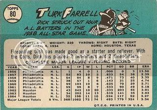 #80 Turk Farrell (back)