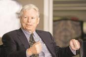 Richard Thaler has won the 2017 Nobel Prize in Economics for his    work in behavioural economics. Photo: Ramesh Pathania/Mint