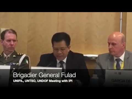 Brigjen Fulad , UNIFIL , UNTSO, UNDOF Meeting Dengan IPI