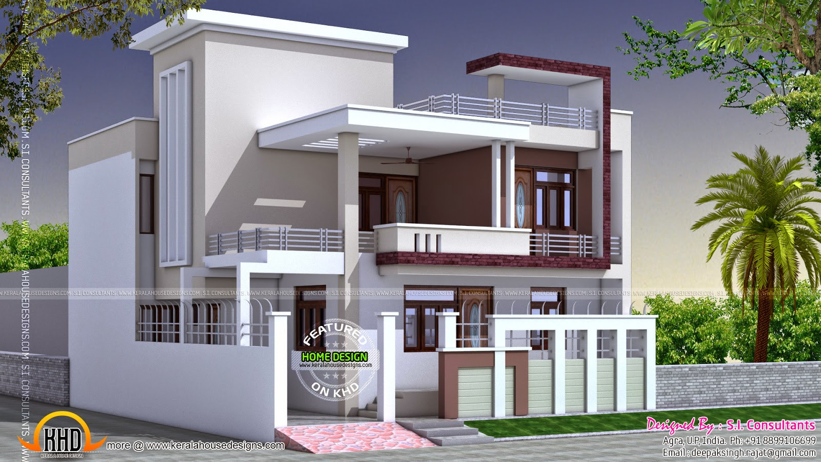 Fancy Home Architecture News And Article Online North Indian Square Roof In Indian Home Exterior Pictures Low Budget Ideas House Generation
