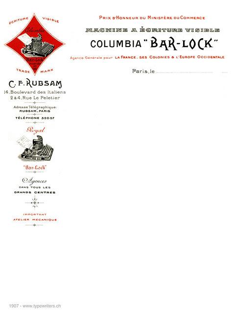 letterhead_bar-lock_1907