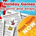 Printable Christmas games for all the family
