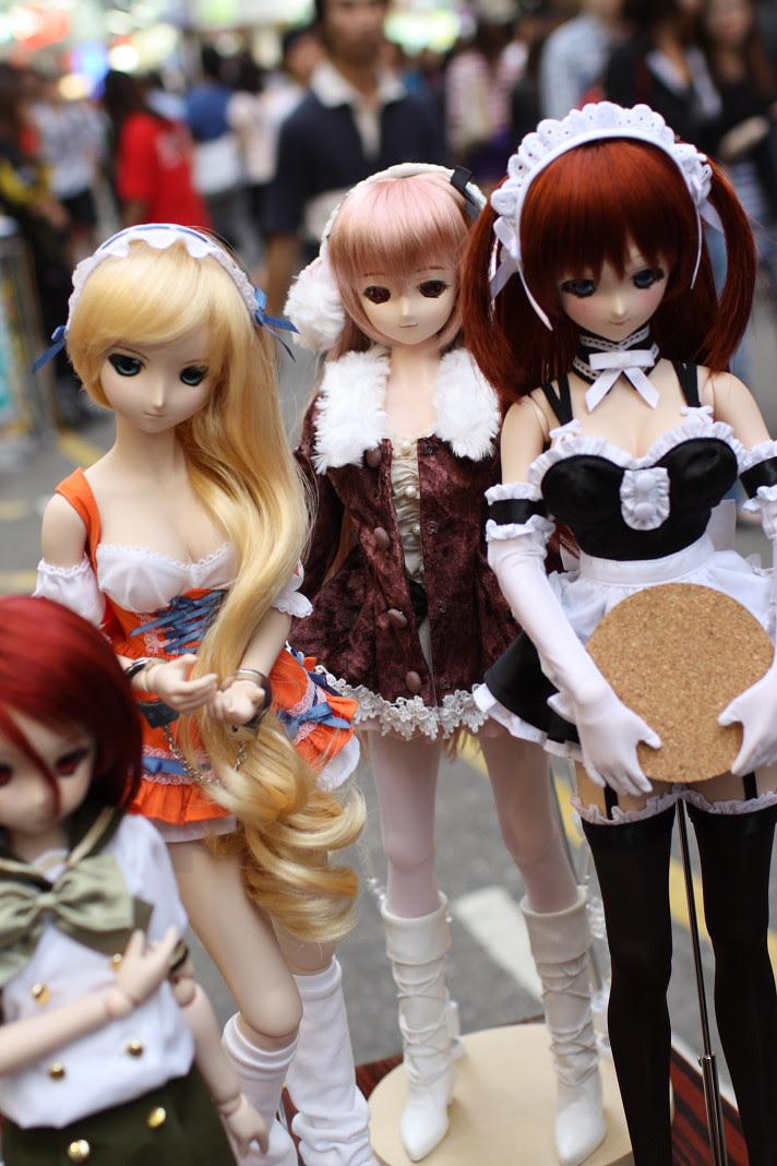 Boneka Seksi Yang Digandrungi Remaja Jepang