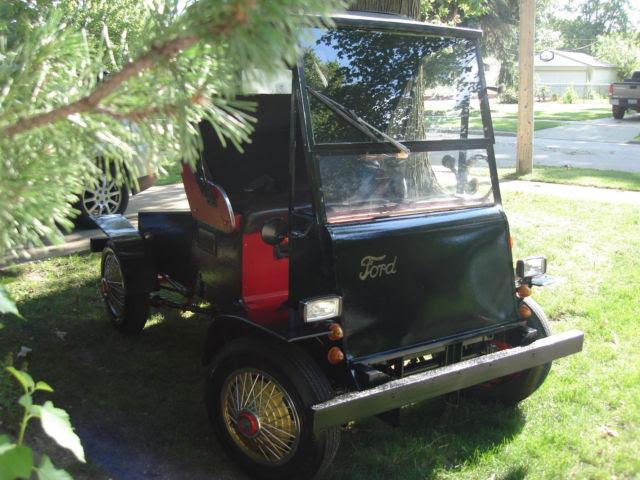Vintage 3 Wheel Golf Cart